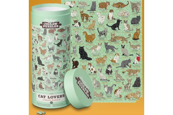 Ultimate Cat Lover`s 1000pc Jigsaw Puzzle 70x55cm