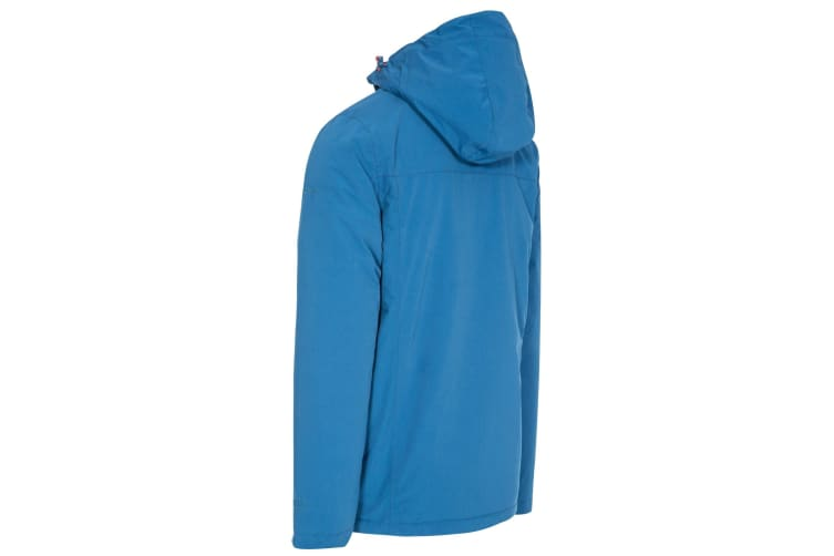 Trespass Mens Toffit Waterproof Jacket (Indigo) (L)