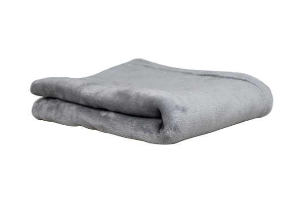 Apartmento Ultra Soft Throw Rug (Grey)