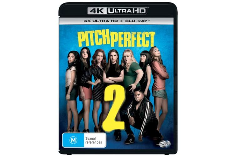 Pitch Perfect 2 4K Ultra HD Blu-ray Digital Download UHD Region B