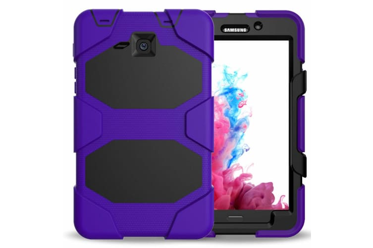 For Samsung Galaxy Tab S5E 10.5'' (2019) T720 Shockproof Hybrid Tablet Case Cover--Purple