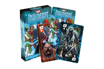 Marvel In Humans Playing Cards