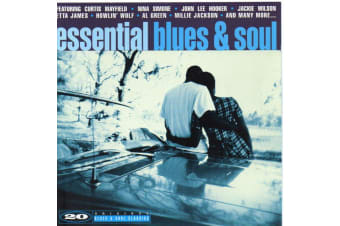 Various  - essential blues & soul BRAND NEW SEALED MUSIC ALBUM CD - AU STOCK