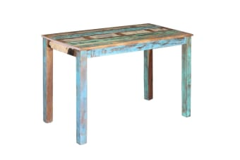 vidaXL Dining Table Solid Reclaimed Wood 115x60x76 cm