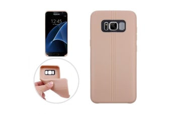 For Samsung Galaxy S8 PLUS Case Stylish Dotted Grippy Protective Cover Gold