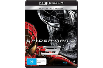 Spider Man 3 4K Ultra HD Blu-ray Digital Download UHD Region B