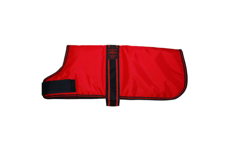 The Animate Company Padded Waterproof Coat (Red) (35.5cm)