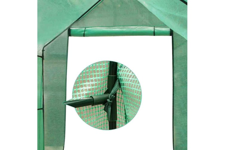 3.5X2X2M Greenhouse Walk In Plant Storage Garden Shed Green House