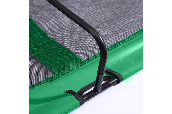 Heavy Duty Pet Dog Bed Trampoline Hammock Canvas Cat Puppy Cover Green M