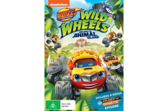 Blaze and the Monster Machines Wild Wheels Escape DVD Region 4