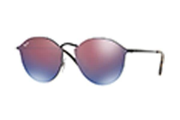 4959f1af6a8454 Ray-Ban RB3574N 59mm - Demigos Black (Dark Violet Blue Mirror lens) Unisex  Sunglasses - Kogan.com