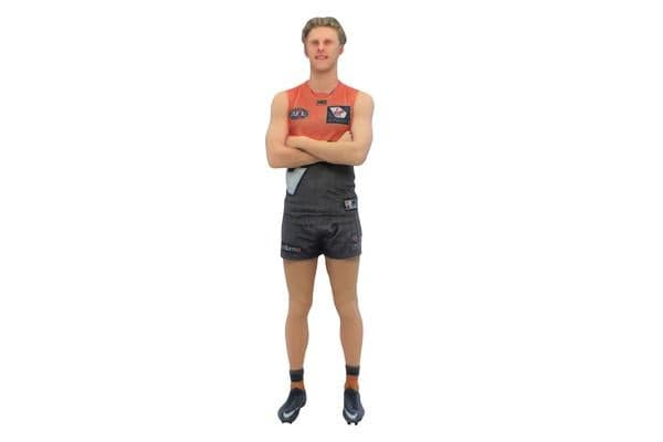 Lachie Whitfield AFL GWS Giants 3D Printed Mini League Figurine - 23cm
