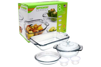Kitchen Classics 8 Piece Bakeware Set