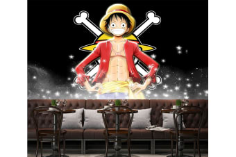3D Proud Luffy 26 Anime Wall Murals Woven paper (need glue), XL 208cm x 146cm (WxH)(82''x58'')