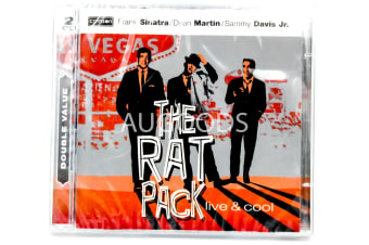 The Rat Pack Live and Cool BRAND NEW SEALED MUSIC ALBUM CD - AU STOCK