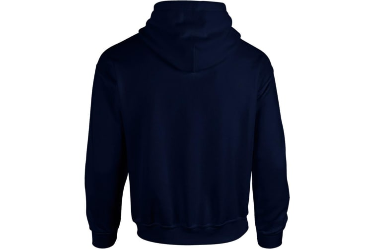 Gildan Heavy Blend Adult Unisex Hooded Sweatshirt / Hoodie (Navy) (XL)