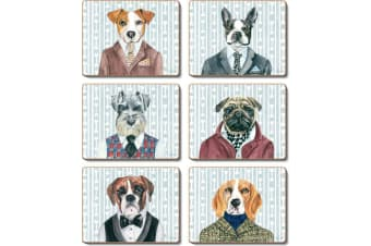 Cinnamon Dogs Dinner Placemats Set of 6
