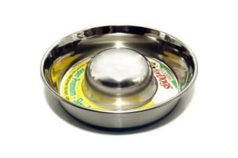 Classic Slow Go Stainless Steel Dish (Steel)