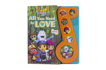 Beat Bugs All You Need Is Love - Little Music Note Play-a-Song Book