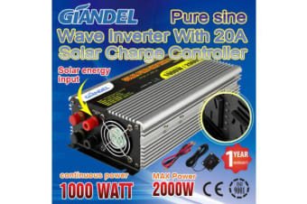 1000W Overload Protection Pure Sine Wave Inverter