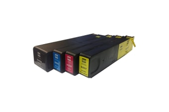 980XL Premium Pigment Inkjet Compatible Set (4 Cartridges)