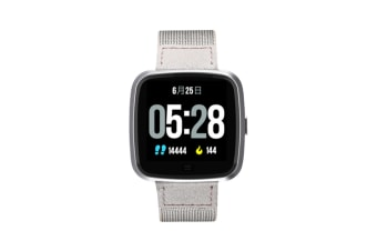 Smart Watch Removable Watchband Bluetooth Watch Call Reminder Heart Rate Silver