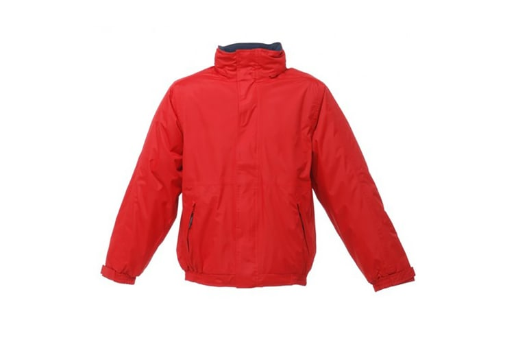 Regatta Dover Waterproof Windproof Jacket (Thermo-Guard Insulation) (Classic Red/Navy) (XL)