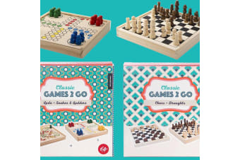 Classic Games-2-Go | Chess, Draughts, Ludo & Snakes & Ladders!