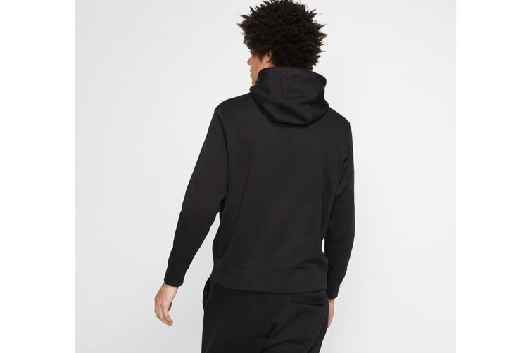 Nike Men's Sportswear Club PO BB GX Hoodies (Black, Size L)
