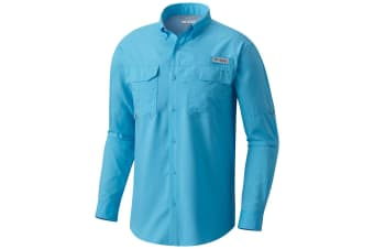 Columbia Mens Blood/Guts III Long Sleeve Shirt - Riptide