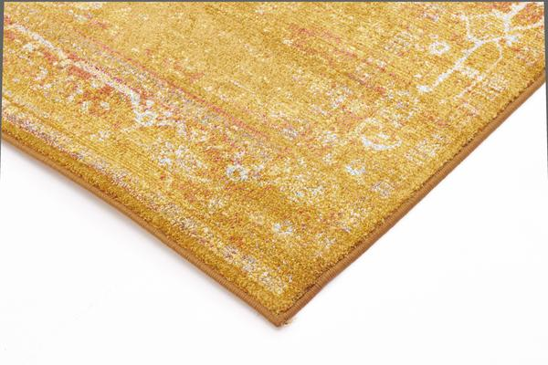Overdyed Classic Style Rug Gold 330x240cm