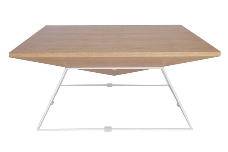 Mos Coffee Table | White & Natural