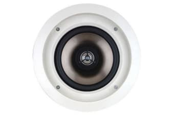 "Leviton 6.5"" IN-CEILING SPEAKER PAIR PREMIUM, 80WATTS @ 8OHMS ARCHITECTURAL"