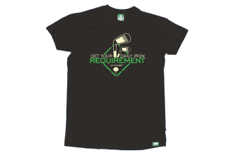 Out Of Bounds Golf Tee - Get Your Daily Iron Requirement Mens T-Shirt