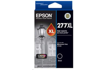 Epson 277XL High Cap Claria Photo HD Black Ink