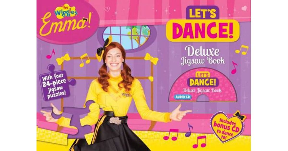 The Wiggles Emma! Let's Dance! Deluxe Jigsaw Book by The Five Mile Press |  9781760401818 | 2016 | Kids & Children > Picture Books & Early Learning |