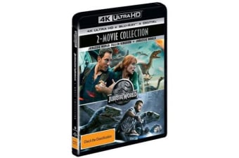 Jurassic World 2-Movie Collection (4K UHD/Blu-ray/UV)