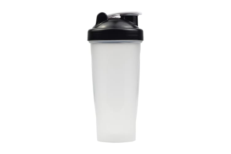 Multi 700ml GYM Protein Supplement Drink Blender Mixer Shaker Shake Ball Bottle  -  3X