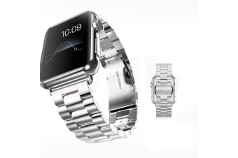 Replacement Stainless Steel Strap Band Clasp for Apple Watch /Sport/ Edition AU
