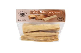 Green Tree Palo Santo Thin Sticks (Brown)