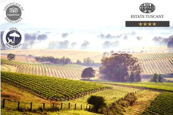 HUNTER VALLEY: 2 Nights at Estate Tuscany, Pokolbin NSW