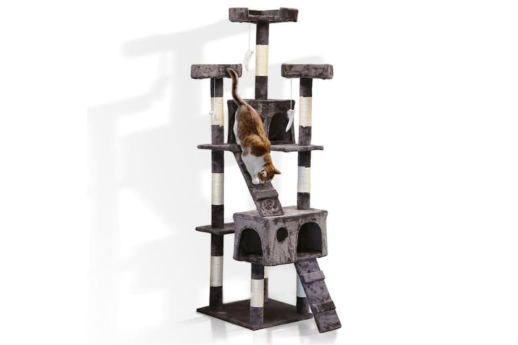 Paws&Claws 1.7M Giant Cat Furniture Scratcher/Scratching Post Tree Play House