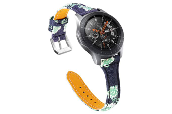 Applicable Samsung Samsung S3 leather strap Samsung S3 suede leather strap watch with 22MM