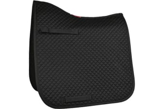 HyWITHER Competition Dressage Pad (Black)