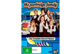 The Partridge Family : Season 2 -Comedy Series Region 4 DVD PREOWNED: DISC LIKE NEW