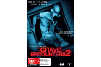 Grave Encounters 2 DVD Region 4