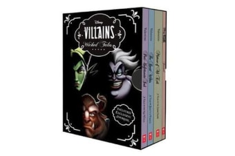 Disney - Villains Wicked Tales Boxed Set (Books 1-3 and Journal)