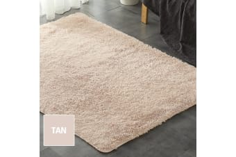 New Designer Shag Shaggy Floor Confetti Rug Carpet Fast Delivery  -  Grey