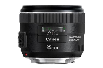 New Canon EF 35mm f/2 IS USM Lens (FREE DELIVERY + 1 YEAR AU WARRANTY)