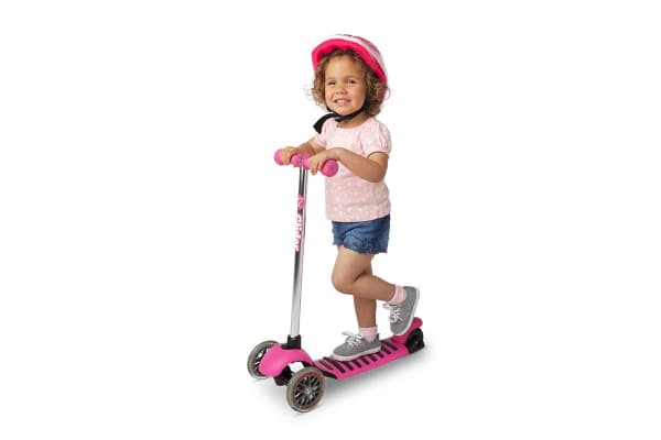 Yvolution Y Glider Deluxe Scooter (Pink)